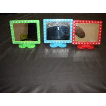 Espejo Plastico Con Pie Para Mesa A $ 29,90
