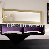 Espejo Plata / Oro - Plateado / Dorado 2,00x 0,50 M (7cm)