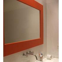 Espejos C/ Marco De 4,5cm 1.50 X 0.50 Decoracion Todoespejos
