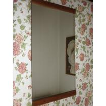 Espejo Enmarcado En Cedro