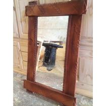 Espejo Rustico En Pino 1,10 X 70