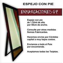 Espejo Con Pie 1.32 X 50