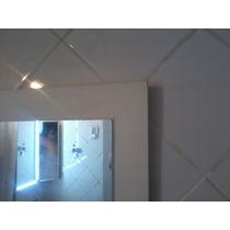 Espejo En Marco Madera Para Baño 30 X40 Cm (5cm Marco)
