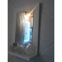 Espejo Con Marco De Madera P/baño O Deco 30x40