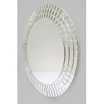 Espejo Con Venecitas Redondo 40cmø / Baño, Living, Comedor,