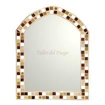 Espejo Capilla Venecitas Gemas Y Espejitos 45 X 60 Cm Oferta
