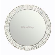 Espejo Marco De Espejitos Redondo 50 Cm De Diametro Oferta!!