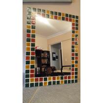 Espejo Con Venecitas Decorativo30 X40cm Baño Living Comedor.