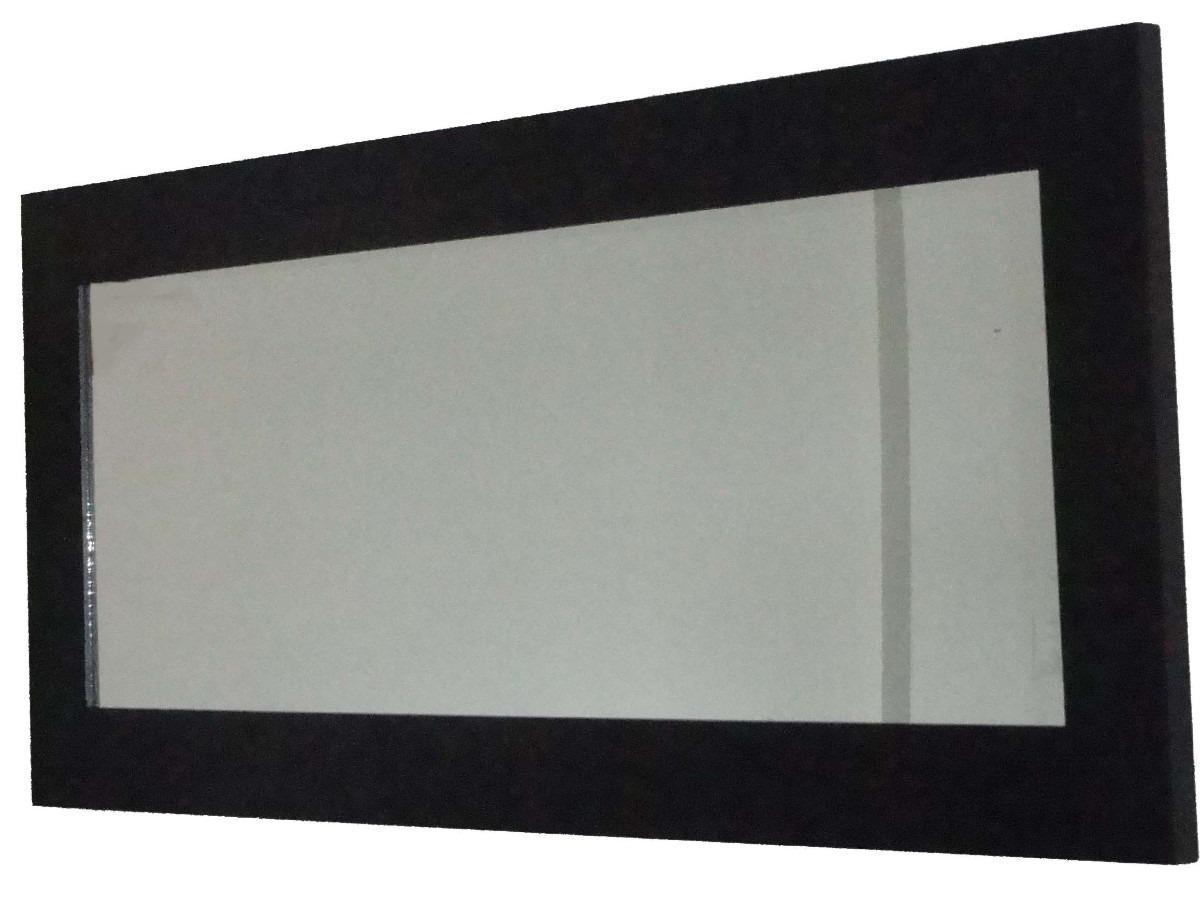 Espejos minimalistas imagui for Espejos decorativos marco de madera