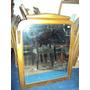 Gran Espejo 110x86 Marco De Madera Dorado (555)