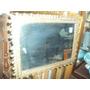 Espejo Con Marco De Bronce Labrado 34x47 (535)