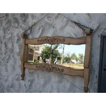 Espejo Provenzal Lavado Con Cadenas