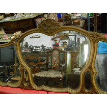 Antiguo Espejo Triptico Frances .original