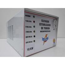 Elevador De Tension.10kw C/ Corte140v. 12 Cuotas Sin Interes