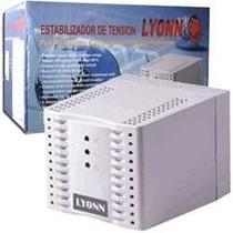 Estabilizador De Tensión Lyonn Tca 1200n Y 220v. 4 Bocas