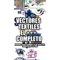 Vectores Textiles El +++ Completo ++eps++ai++corel