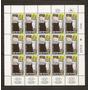 Israel Plancha De 15 Estampillas Yvert N°507 Mint 1 Año 1973