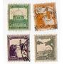 Antiguo Lote De 4 Estampillas - Palestina