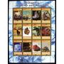 Rwanda Animales Minerales, Bloque 12 Sellos 2009 Usado L6703