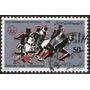 Túnez Sello Usado 21° Olimpíadas De Montreal Año 1976