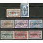 Ubangui (colonia Francesa) 8 Sellos Tigre Años 1915-18