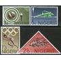 Nigeria Serie Completa X 4 Sellos Nuevos Olimpíadas Año 1964