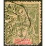 Anjouan (colonia Francesa) Sello Usado Sultanato Años 1892-9
