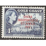 Gold Coast Costa De Oro 1v. República Yvert N°2 Usada