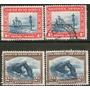 Sudafrica Oeste (swa) 4 Sellos Usados Barcos-roca Arco 1931