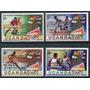 Uganda 1980 Olimpiadas Deportes Serie Completa Mint !!