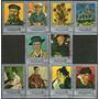 Yemen Serie Completa X 10 Sellos Usados Pinturas Van Gogh