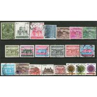 Pakistán +20 Sellos Usados Tema Agro = Tractor Años 1951-84