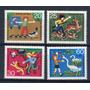 1972 Protección Fauna- Aves- Ciervo - Alemania Federal