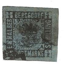 Bergedorf Alemania Villa Libre Año1861 Usada Cat.euros +++