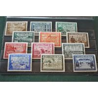 Alemania Iii Reich Michel N° 702-713 Serie Completa Mint