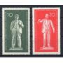 D D R 1960 Mi 772/73** Yv 488/89 Mint Lenin Comunismo