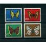 Alemania Mariposas Serie Completa Nueva