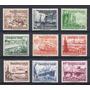 Reich 1937 Mi 651/59** Yv 594/602 Mint Serie Completa Barcos