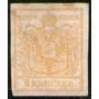 Austria Antiguo Sello Usado Escudo De Armas X 1 K. Año 1850