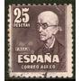 España Sello Aéreo Usado Compositor Manuel De Falla 1947