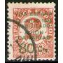 España = Islas Canarias Sello Aéreo Usado Resellado 1936-37