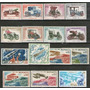 Mónaco 15 Sellos Autos = Aviones = Espacio Años 1961-1977