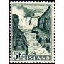 Islandia Sello Usado Usina Hidroeléctrica = Cataratas 1956