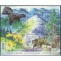 Fauna - Ave, Gato Montés - Ucrania - Hojita Block Mint (mnh)