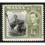 Malta Sello Nuevo Imagen De San Publio Año 1938