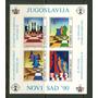 Yugoslavia 1990 Ajedrez Hojita Sin Dentar Mint Alto Vc