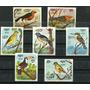 Pajaros Kampuchea Aves Serie Completa De Estampillas Mint