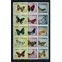Mariposas Cuba Serie Completa De Estampillas Mint