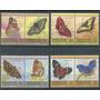 Mariposas Flores Union Islands Serie De Estampillas Mint