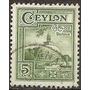 Ceylan -ceylon- Colonia Inglesa - Año 1950 Usada